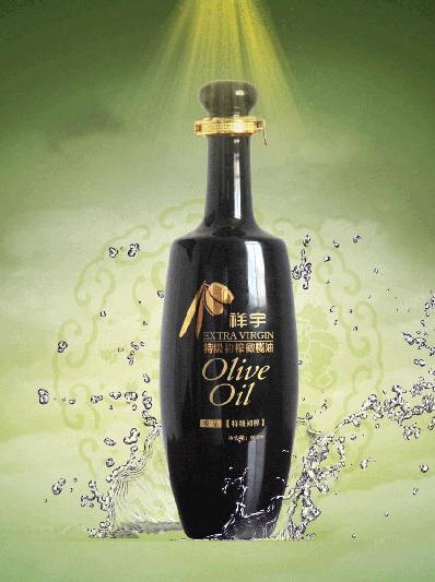 四川橄榄油黑瓶