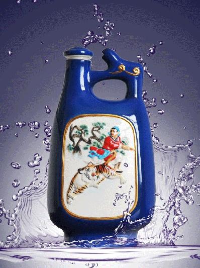 5斤单耳蓝瓶