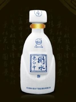 裂纹白釉瓶