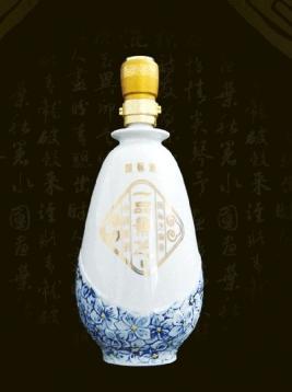 安徽蓝花白瓶