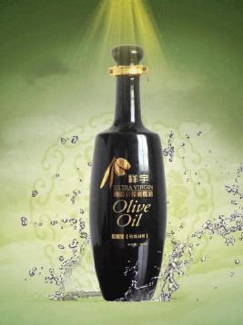 橄榄油黑瓶