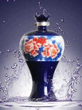 四川牡丹蓝瓶