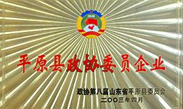 平原县政协委员企业
